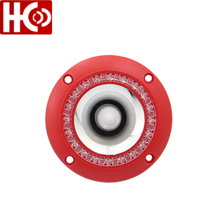 "4"" Colorful Flashing Piezoelectric Audio Speaker Tweeter"